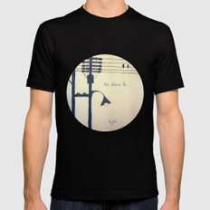 Let there be light... Mens Fitted Tee Black SMALL
