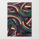 Swirl Madness Canvas Print