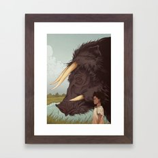 Beasts of the Southern Wild Framed Art Print