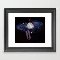 Night Watcher Framed Art Print