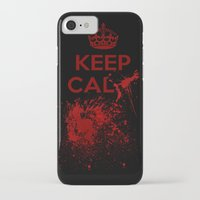 keep calm iPhone & iPod Cases featuring Keep calm? by Eveline