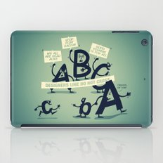 Type Rights iPad Case