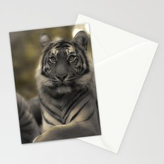 Golden Tiger 2 Stationery Cards