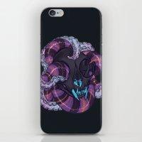 Tentacles And Skulls iPhone & iPod Skin