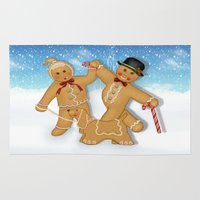 Gingerbread Family Winte… Rug