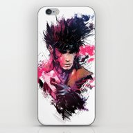 iPhone & iPod Skin featuring Gambit by Vincent Vernacatola