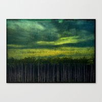 I Like This Place Canvas Print