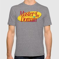 Master Of My Domain Mens Fitted Tee Tri-Grey SMALL