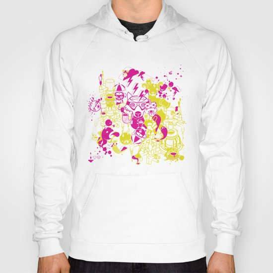 Dream Factory Pink and Yellow Hoody