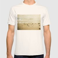 to the sea Mens Fitted Tee Natural SMALL