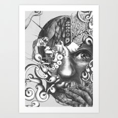das experiment Art Print
