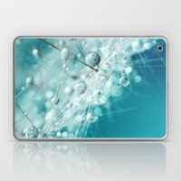 Dandy Starburst in Blue Laptop & iPad Skin