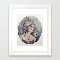 At What Cost Framed Art Print