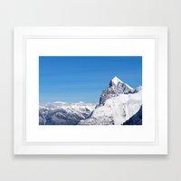 Rocky Mountain - Roger's Pass, BC Framed Art Print