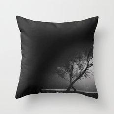 Foggy Night Throw Pillow