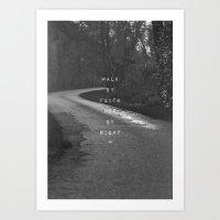 Faith Not Sight Art Print