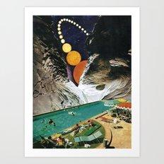 A DEDICATION / VISIONS Art Print