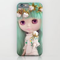 iPhone & iPod Case featuring Enchanted Petal by Miss Doll