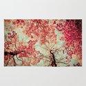 Autumn Inkblot Rug