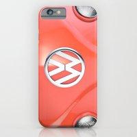Big Orange iPhone 6 Slim Case