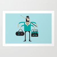 Back To Indie Business Art Print