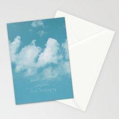 Blue Sky Meditation Stationery Cards