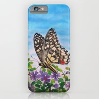 Chequered Swallowtail  iPhone 6 Slim Case