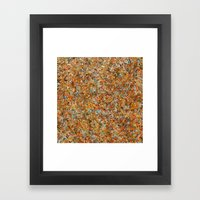 Square Bosque Framed Art Print