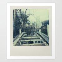 Abandoned Amusement Park 03 Art Print