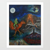 Chagollum Art Print