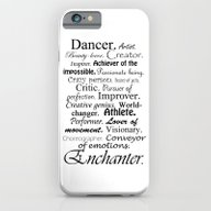 Dancer Description iPhone 6 Slim Case