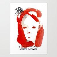 Carte Postale 1 Art Print