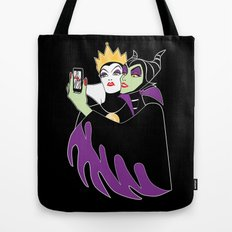 Grimhilde & Maleficent Selfie Tote Bag
