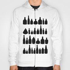 Bottles Black and White Hoody