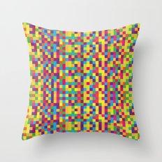 Pixels Throw Pillow