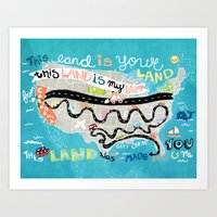 This Land is Your Land Art Print