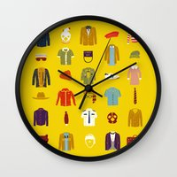 W.A Luggage Wall Clock