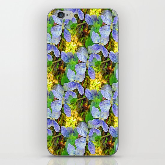 Floral Cascade iPhone & iPod Skin