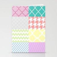 Multi Patterned Stationery Cards