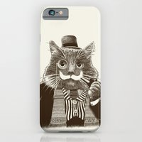 Mustache Cat iPhone 6 Slim Case