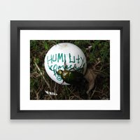 The Beetle. [INSECTS] [G… Framed Art Print