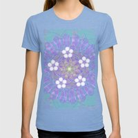 Geometry Porn #3 Womens Fitted Tee Tri-Blue SMALL