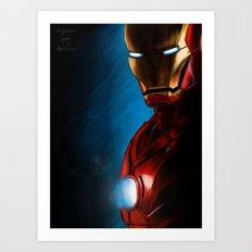 The Iron Man Art Print