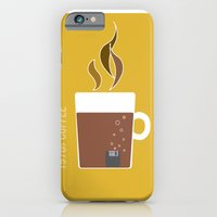 iPhone & iPod Case featuring 70s Coffee by Morgane Cazaubon