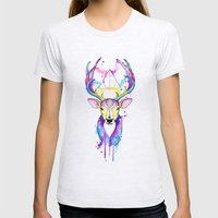 Patronus Harry Potter Womens Fitted Tee Ash Grey SMALL