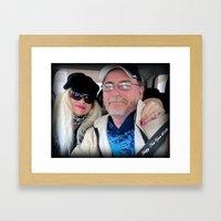 Doug and Judi Personal item Framed Art Print