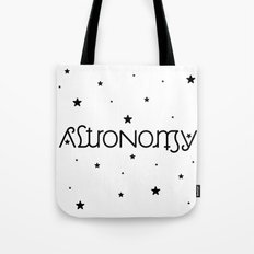 Astronomy Ambigram Tote Bag