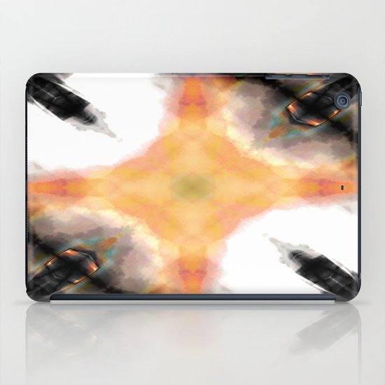 Water Rust Pattern 003 iPad Case