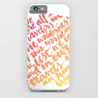 We Are All Travelers... iPhone 6 Slim Case