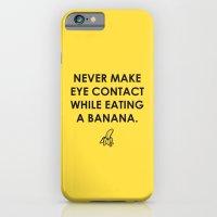 Eating A Banana iPhone 6 Slim Case